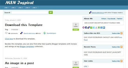 top free premium blogger templates to use in 2011